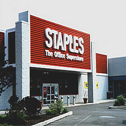 staples or Office Depot