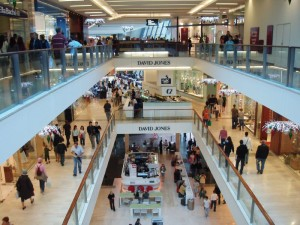 The american shopping mall
