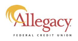 Allegacy brand work and logo