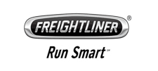 Freightliner brand work and logo