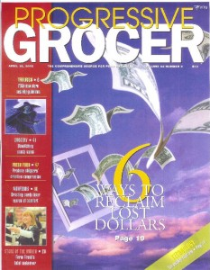 pet food Progressive Grocer cover