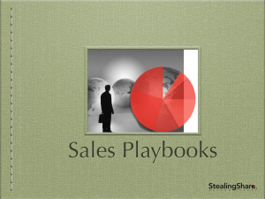 brand training for the sales force