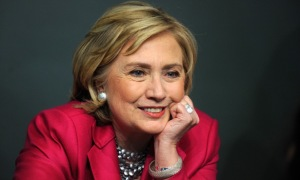Hillary Clinton email. There's a brand equity - both good and bad - with being a Clinton.
