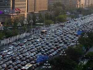 Beijing. global automobile market