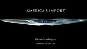 Chrysler is simply describing Chrysler, not the Chrysler customer.global automobile market