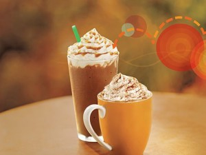 The pumpkin spice is real.