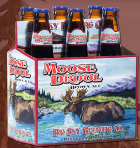 Moose Drool is craft beer
