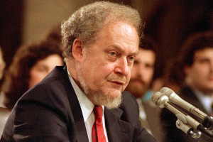 Robert Bork. US Government vs Apple