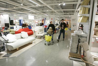 The IKEA experience is rooted in a belief