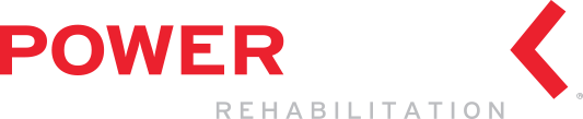 Powerback Rehabilitation logo developed by Stealing Share
