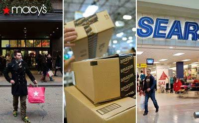 Sears and Macy's. Going Out of Business.